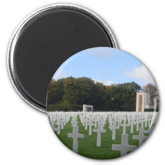 American Cemetery Luxembourg Magnet
