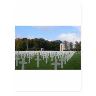 American Cemetery Luxembourg Postcard