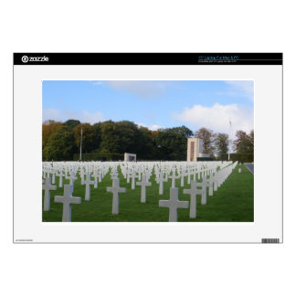 American Cemetery Luxembourg Laptop Skin