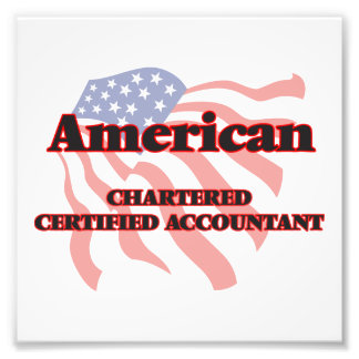American Chartered Certified Accountant Photo Print