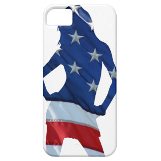 American cheerleader on any color iPhone SE/5/5s case