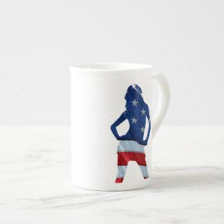 American cheerleader tea cup