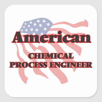 American Chemical Process Engineer Square Sticker