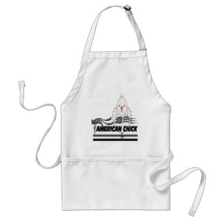 American Chick Adult Apron
