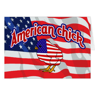 American Chick Card