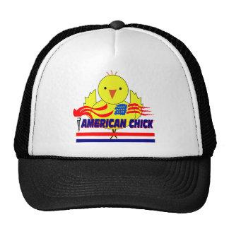 American Chick Trucker Hat