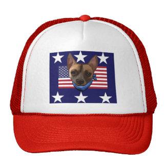 AMERICAN CHIHUAHUA TRUCKER HAT