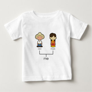 American/Chinese Baby Family Tee