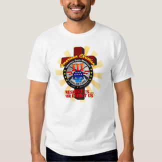 American Christians - Respect us, or expect us T-shirt
