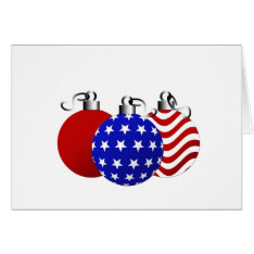 American Christmas Card at Zazzle