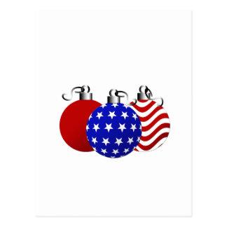 American Christmas Postcard
