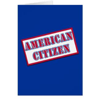 American Citizen Card