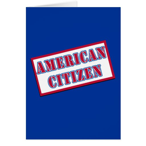American Citizen Cards