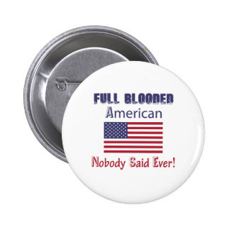 american citizen design pinback button
