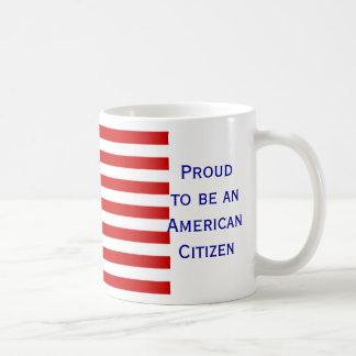 American Citizen Flag Coffee Mug by Janz