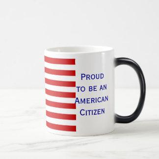 American Citizen Flag Morphing Coffee Mug by Janz