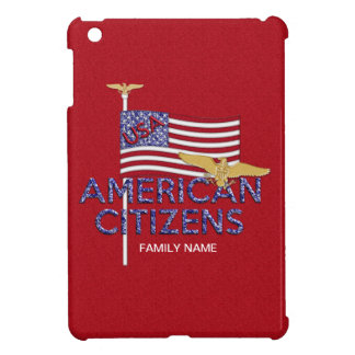 American Citizen Glittered iPad Mini Case
