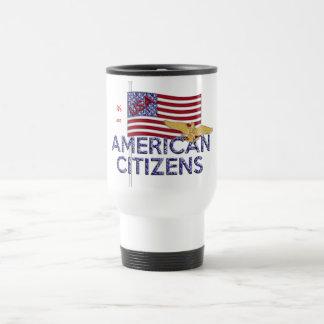 American Citizen Glittered Mugs