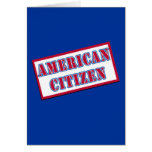 American Citizen Greeting Card