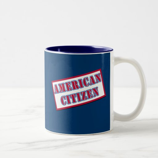 American Citizen Coffee Mugs
