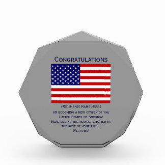 American Citizenship Flag Award