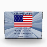 """American Citizenship Flag Award with Date<br><div class=""""desc"""">Custom American Citizenship Award Designs by Janz   copyright 2008-2016 Jan Fitzgerald. All rights reserved. Design,  Artwork,  and Photography by Jan and Michael Fitzgerald.  ...  8 Awards SOLD to date... ;-)</div>"""