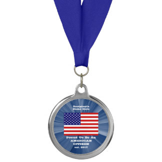 American Citizenship Silver Medal by Janz