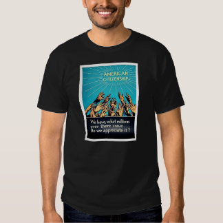 American Citizenship T Shirts