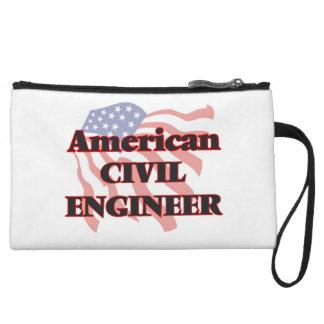 American Civil Engineer Wristlet Purses