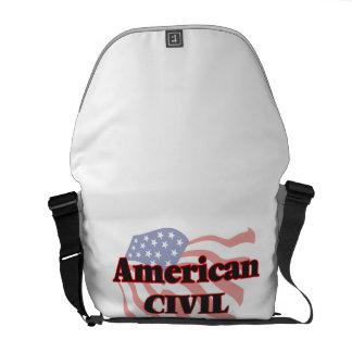 American Civil Engineer Courier Bag