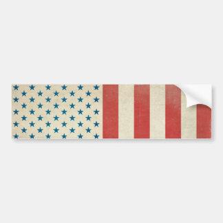 American Civil Flag Bumper Sticker Car Bumper Sticker