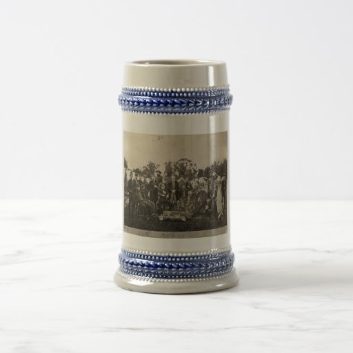 American Civil War Battalion Washington Artillery Beer Stein