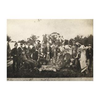 American Civil War Battalion Washington Artillery Canvas Print
