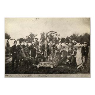 American Civil War Battalion Washington Artillery Card