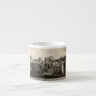 American Civil War Battalion Washington Artillery Espresso Cup