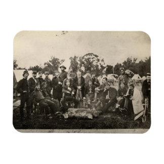 American Civil War Battalion Washington Artillery Magnet