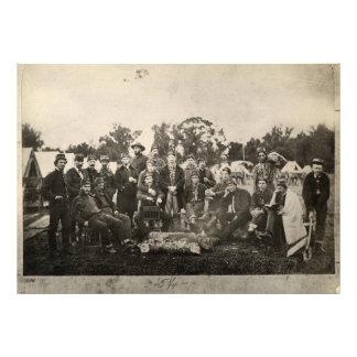 American Civil War Battalion Washington Artillery Art Photo