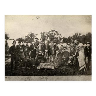American Civil War Battalion Washington Artillery Postcard