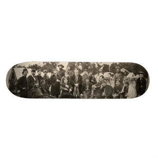American Civil War Battalion Washington Artillery Skate Board Decks