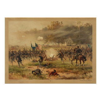 American Civil War Battle of Antietam Sharpsburg Poster