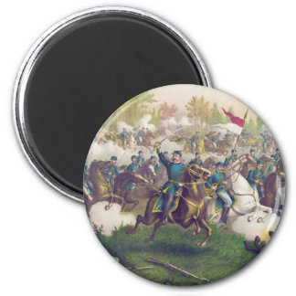 American Civil War Battle of Cedar Creek 1864 2 Inch Round Magnet