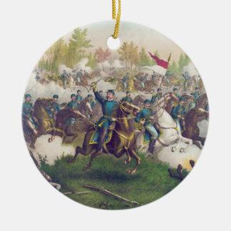 American Civil War Battle of Cedar Creek 1864 Ceramic Ornament