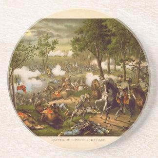 American Civil War Battle of Chancellorsville Drink Coaster