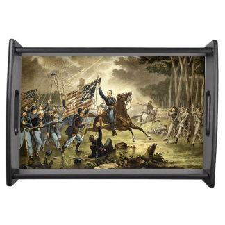 American Civil War Battle of Chantilly Serving Tray