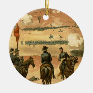 American Civil War Battle of Chattanooga 1863 Ceramic Ornament