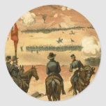 American Civil War Battle of Chattanooga 1863 Classic Round Sticker