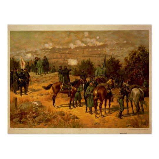 American Civil War Battle of Chattanooga Postcard