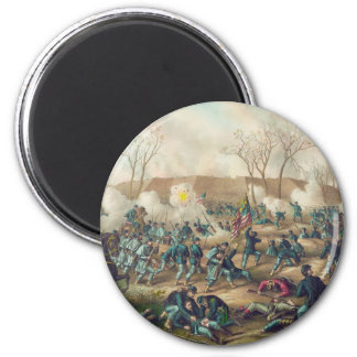American Civil War Battle of Fort Donelson 1862 2 Inch Round Magnet