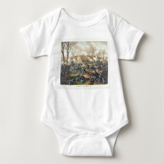American Civil War Battle of Fort Donelson 1862 Baby Bodysuit