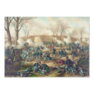 American Civil War Battle of Fort Donelson 1862 Card